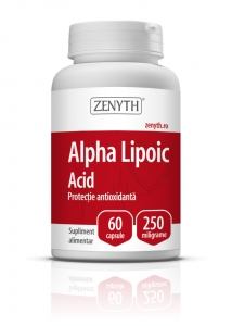 Alpha Lipoic Acid (60 capsule x 250 mg)
