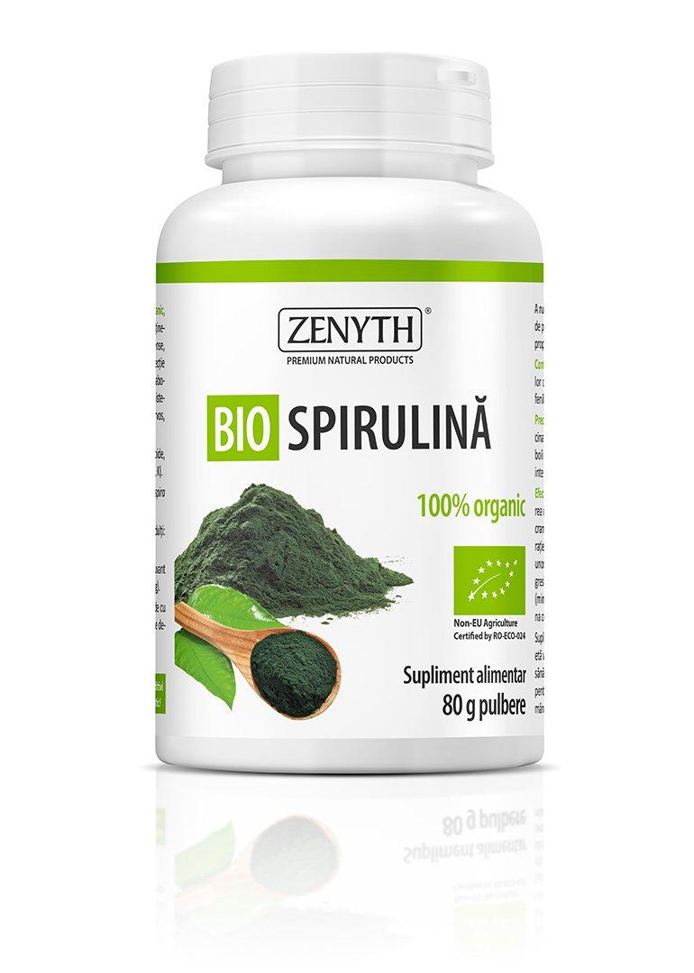 Bio Spirulina Pulbere