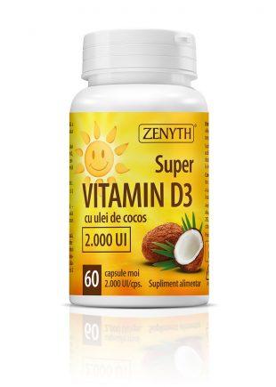 Super Vitamin D3 60 CPS