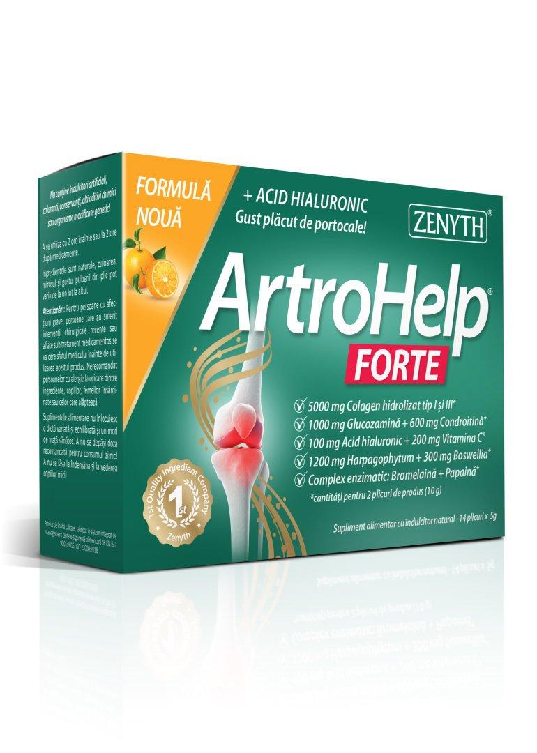 ArtroHelp Forte 14 plicuri NEW - Fata