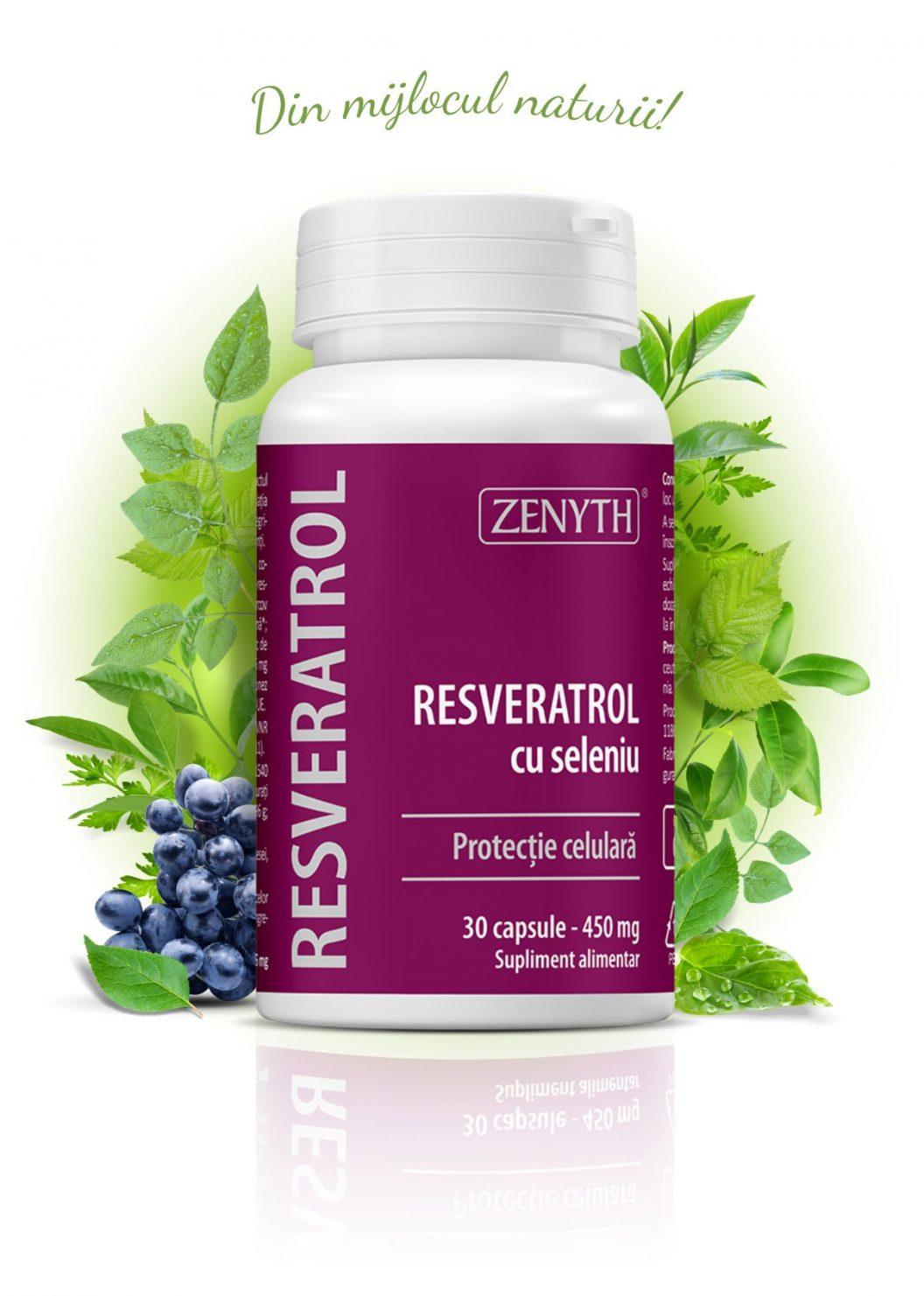 Resveratrol-cu-seleniu