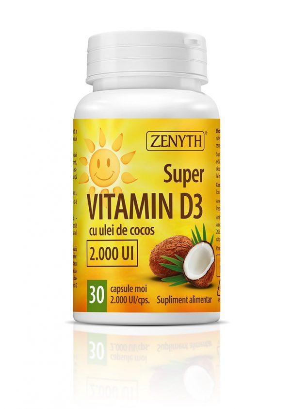 Super Vitamin D3 30 CPS