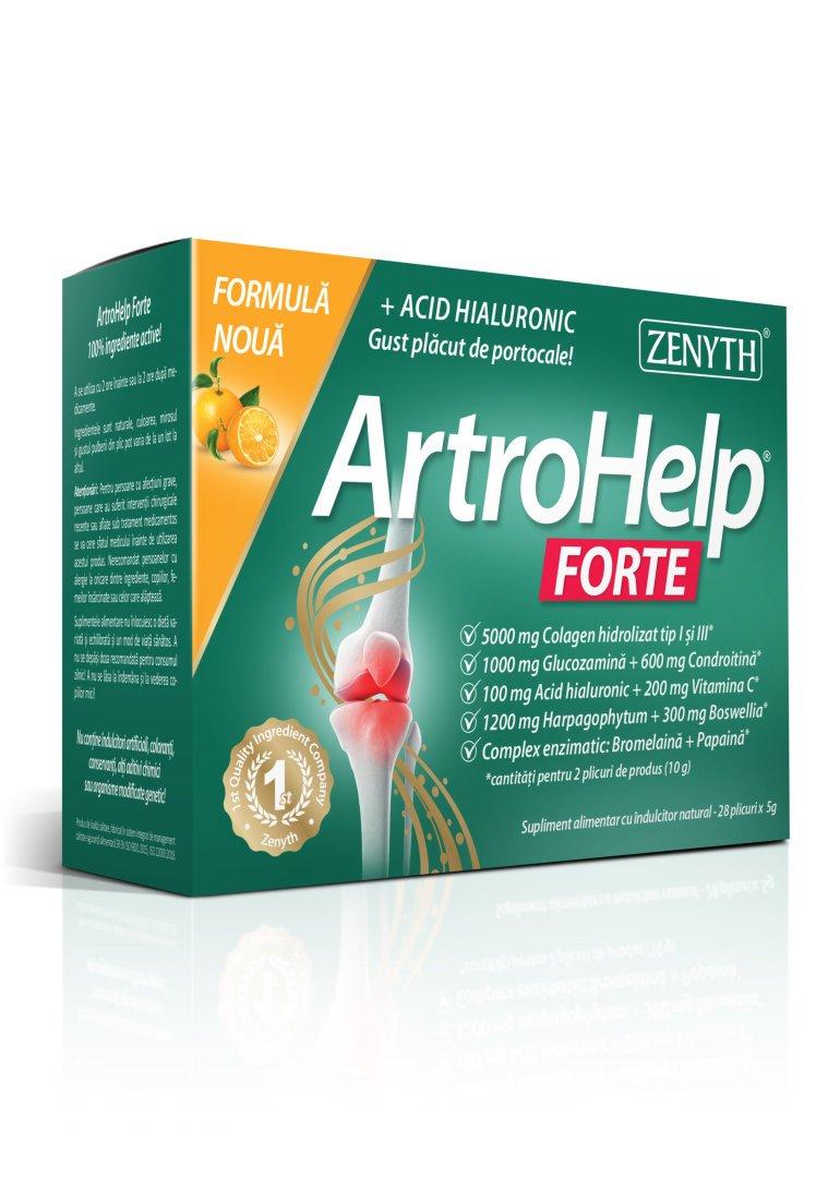 ArtroHelp Forte 28 plicuri NEW - Fata