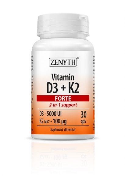 Vitamin D3 + K2 Forte