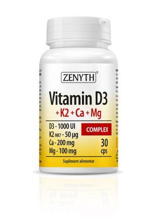 Vitamin D3 + K2 + Ca + Mg