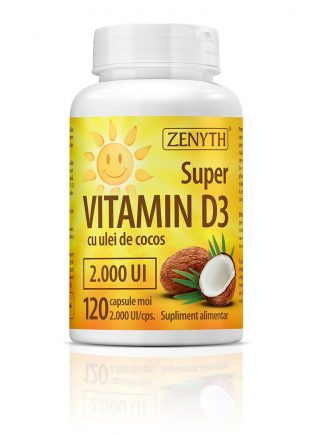 Super Vitamin D3 120 CPS