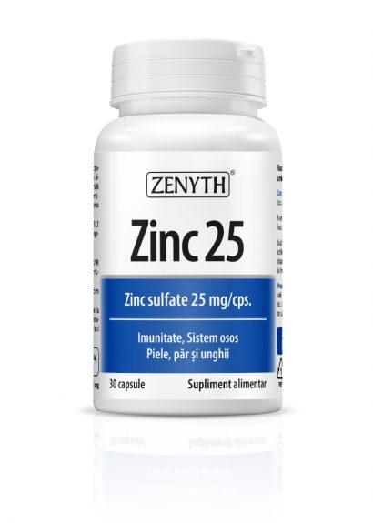 Zinc 25 - 30 CPS