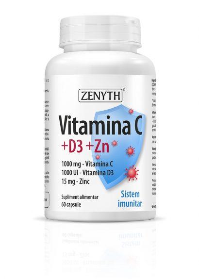 Vitamina C+D3+Zn